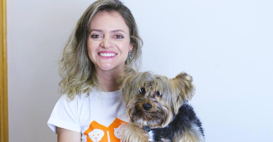 A franquia My Pet's Nanny foi criada pela empresária e veterinária Andressa Gontijo (foto) e oferece serviços de pet sitter (babá de animal de estimação), dog walker (passeador de cachorro) e hospedagem domiciliar