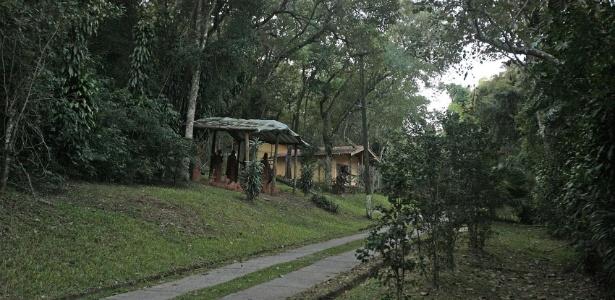 Sítio localizado em Atibaia (SP). A propriedade, atribuída a Lula pelo MPF, está sem uso