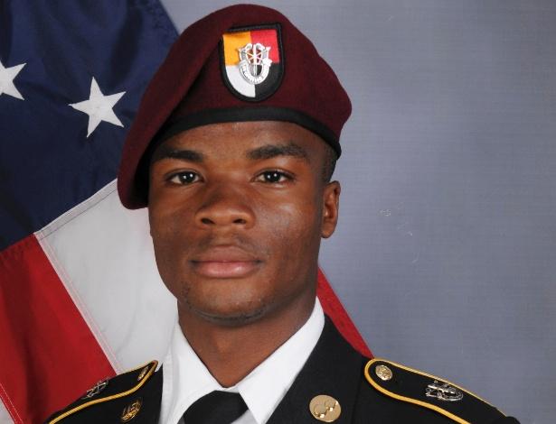 David Johnson em foto oficial do exército