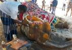 O trágico destino de milhares de elefantes usados em rituais e turismo na Índia - AFP