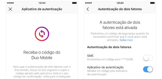 Autenticação de contas poderá ser feita com app de terceiros - Divulgação