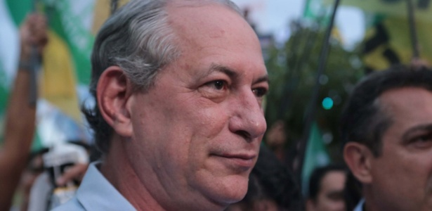18.set.2018 - O candidato à Presidência, Ciro Gomes (PDT)