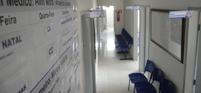 Posto de saúde do SUS (Sistema Único de Saúde); mais de 150 milhões de brasileiros dependem exclusivamente da saúde pública - Beto Macário/UOL