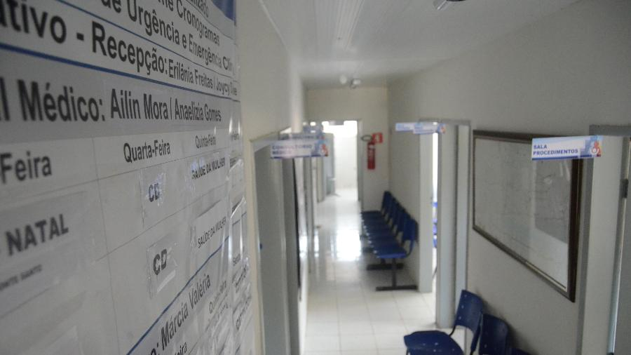 Entrada do posto de saúde - Beto Macário/UOL