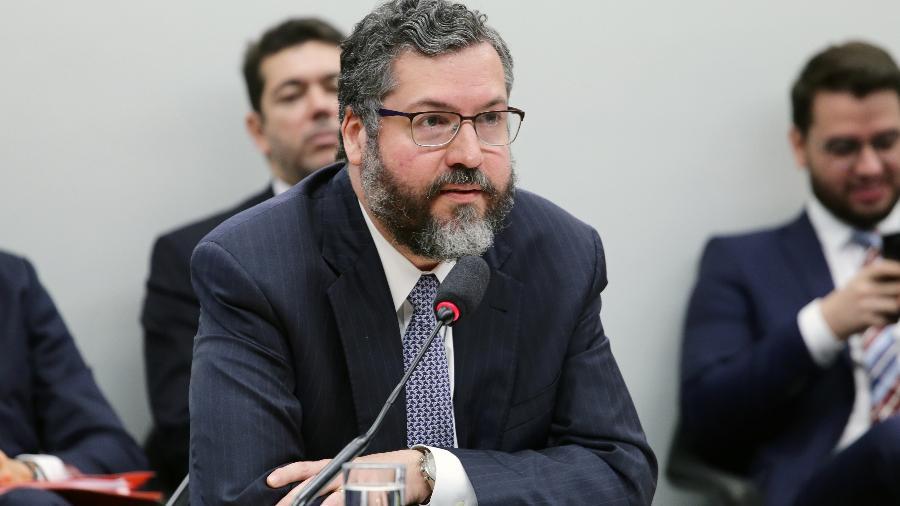 27.mar.2019 - Ernesto Araújo, ministro das Relações Exteriores - Vinicius Loures/Câmara dos Deputados