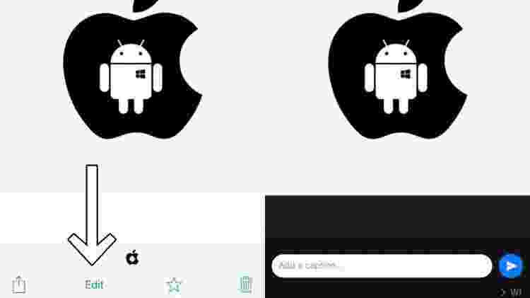 WhatsApp poderá adicionar recurso de edição para fotos no app dentro do iOS - Reprodução/WaBetaInfo - Reprodução/WaBetaInfo