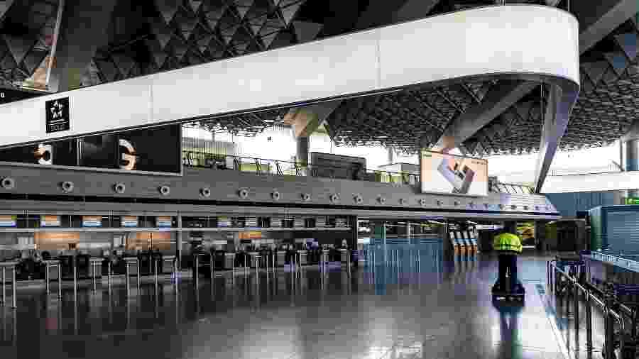 Número de passageiros em aeropostos caiu em decorrência da pandemia - Gerald Friedrich/Pixabay