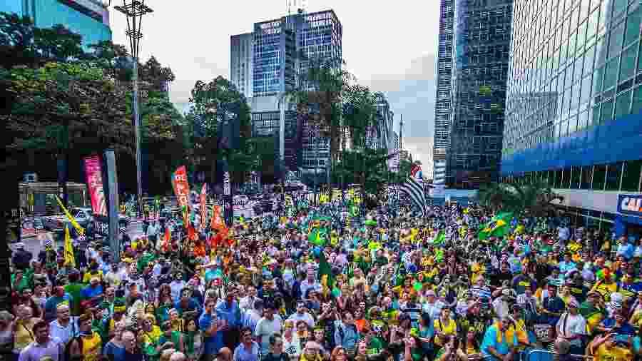 Movimento Vem Pra Rua militou pela prisão de Lula e pelo impeachment de Dilma - NurPhoto/NurPhoto via Getty Images