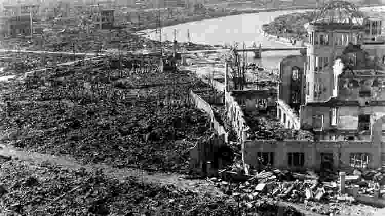 Hiroshima após bomba atômica - Getty Images - Getty Images