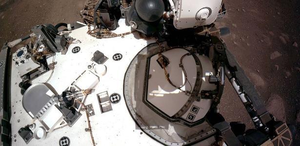 Veja o que a Perseverance registrou durante a primeira semana em Marte