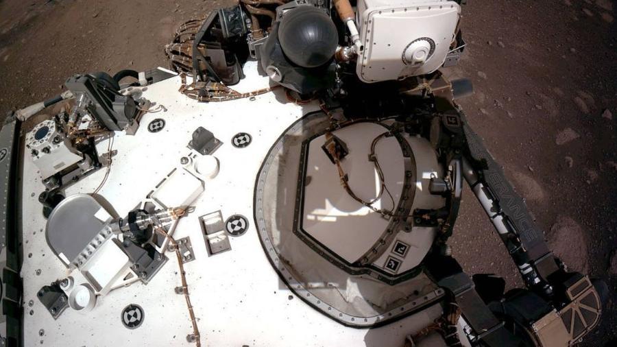 Perseverance completou 100 dias em Marte no início de junho - Nasa/JPL-Caltech