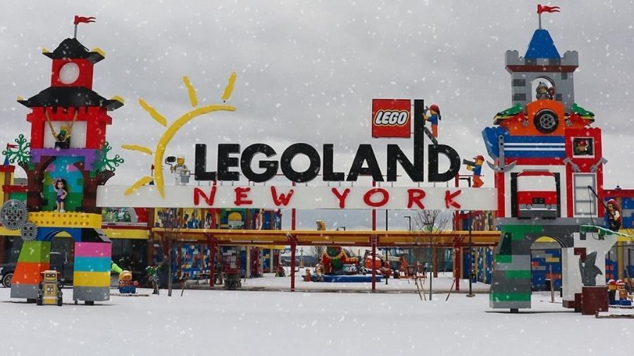 Legoland em Nova York foi construída em área de mais de 200 hectares - Divulgação