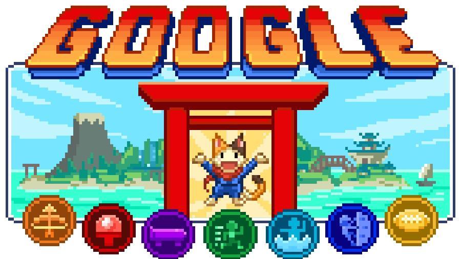 Doodle olímpico do Google tem um joguinho escondido com várias modalidades esportivas - Divulgação