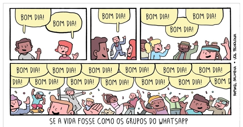 "24.jul.2015 - ""Bom dia!"""
