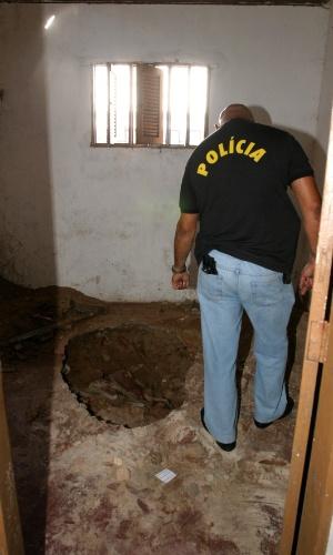 Local onde a polícia encontrou caixa de isopor com dinheiro na periferia de Natal (RN). Ao tentar resgatar uma bola de futebol caída no quintal da casa, três adolescentes, de 13, 14 e 15 anos, e uma criança de quatro anos encontraram, na tarde de 29 de julho de 2006, uma bolsa com dinheiro furtado do Banco Central em Fortaleza (CE) em agosto de 2005. O furto foi o maior da história do país. Foram levados R$ 164,8 milhões da caixa-forte, por um túnel. O dinheiro estava em uma bolsa preta, num cômodo destrancado nos fundos da casa