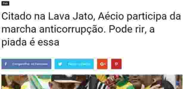 """Site """"Sensacionalista"""" é conhecido por fazer publicar notícias fictícias  - Reprodução/Sensacionalista"""