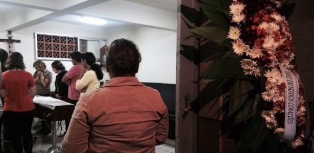 """""""Fui buscar meu filho vivo, achei que ele estivesse seguro dentro da escola. Perdi meu maior companheiro"""", diz a confeiteira Alexandra - Janaina Garcia/UOL"""