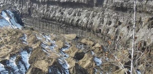 39 porta do inferno 39 a gigantesca cratera que continua crescendo e revela como a terra era h 200 - Enorme terras ...