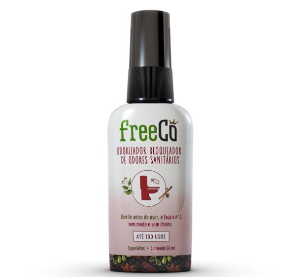 O FreeCô é um bloqueador de odores de banheiro criado pelos empresários Rafael Nasser, 26, e Renato Radomysler, 27