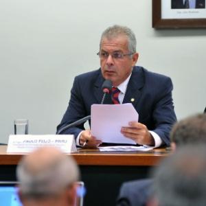12.mar.2014 - Deputado Paulo Feijó (PR-RJ)