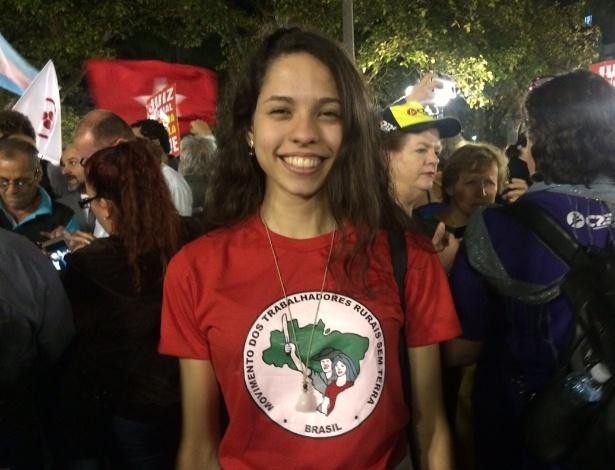 Ana Júlia Ribeiro, 16, símbolo das ocupações de escolas públicas em 2016