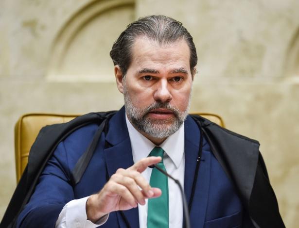 """""""O Supremo Tribunal Federal, como guardião da Constituição Federal, sempre defendeu a autonomia e a independência das universidades brasileiras"""", disse Toffoli - AFP"""