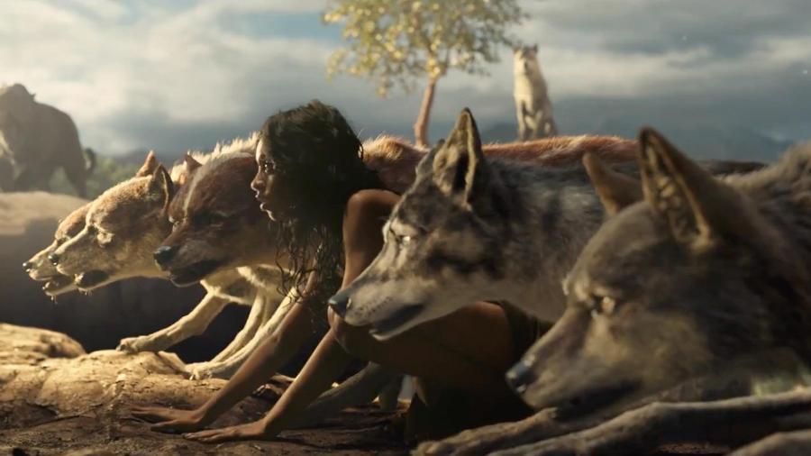 """Cena do filme """"Mogli"""", dirigido por Andy Serkis - Reprodução"""