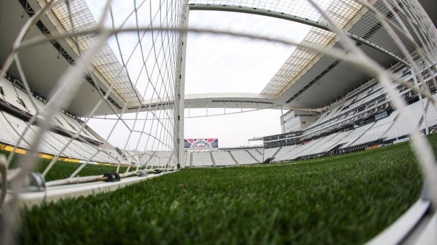 0421a3aec5e78 Corinthians faz parceria com IBM e  sonha  com estádio do Atlanta Falcons.  Bruno Teixeira Divulgação. Arena Corinthians ...