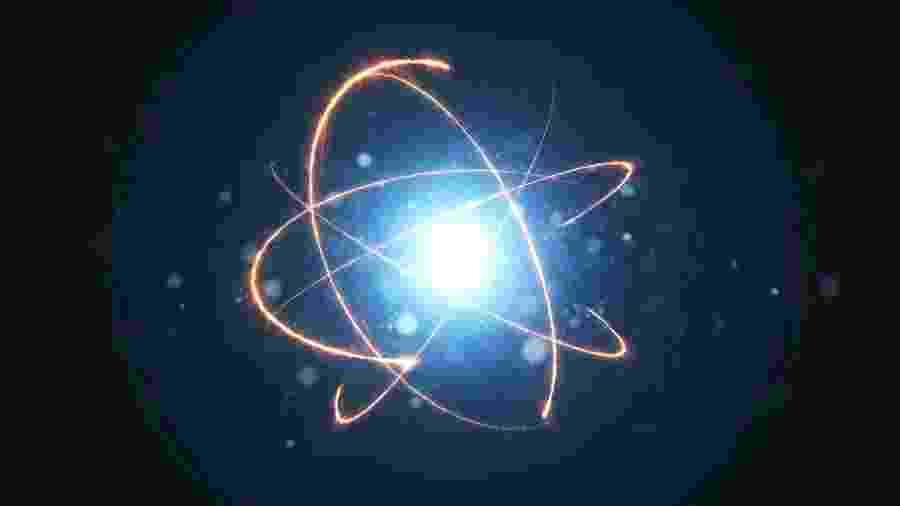 Átomos compõem toda a matéria que existe, mas eles têm de conviver no Universo com a antimatéria. - Getty Images/iStockphoto