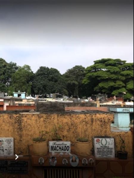 Cemitério da Saudade, na zona leste - Google StreetView