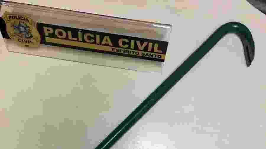 Mulher levou mais de 30 pontos na cabeça e ficou com vários ferimentos no corpo - Divulgação/Polícia Civil do Espírito Santo