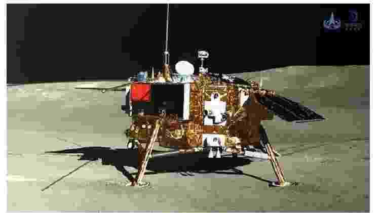 2 - Lado oculto da lua: sonda espacial chinesa Chang'e 4 - CLEP - CLEP