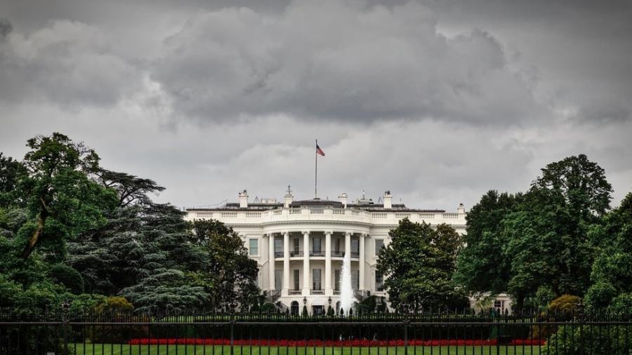 A Casa Branca, em Washington; histórico dos EUA em conflitos externos tem trajetória por vezes relacionada com disputas eleitorais internas - Getty Images
