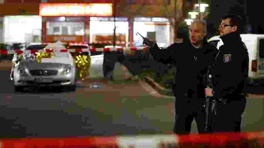 Ataques a arma de fogo na Alemanha deixa mortos e feridos - REUTERS/Kai Pfaffenbach
