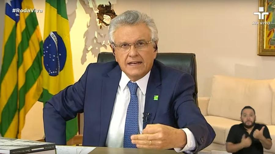 O governador de Goiás, Ronaldo Caiado (DEM) - Reprodução