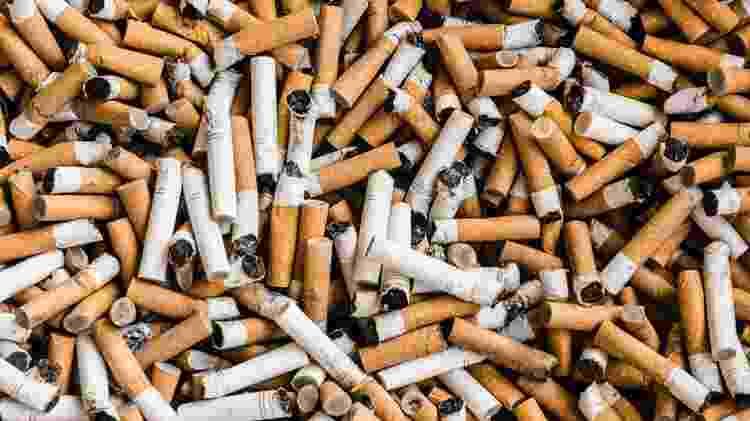 bitucas cigarro lixo poluição descarte incorreto tabagismo tabaco fumar ilustrativa - porpeller/Getty Images/iStockphoto - porpeller/Getty Images/iStockphoto