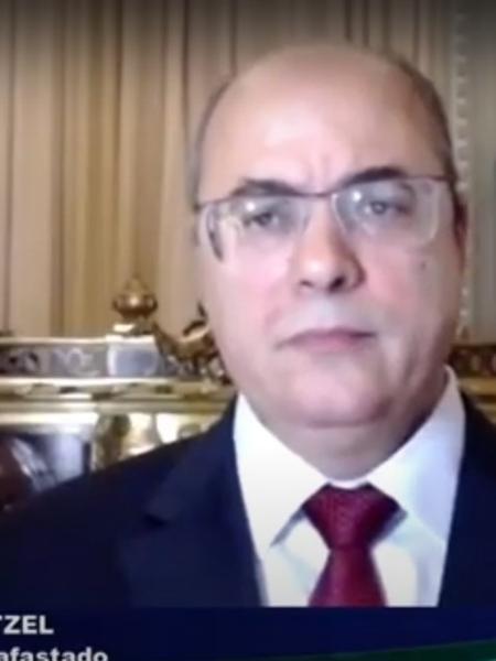 """""""Bolsonaro ainda não sentou na cadeira"""", afirma governador afastado   - Reprodução/TV Alerj"""