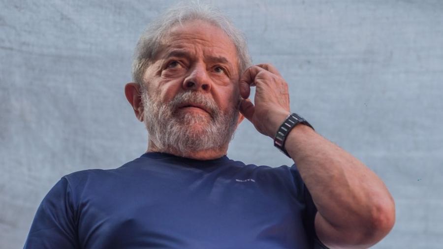 """""""Eles estão conseguindo destruir aquilo que foi construído em muitos anos no nosso país"""", disse Lula - Victor Moriyama/Getty Images"""