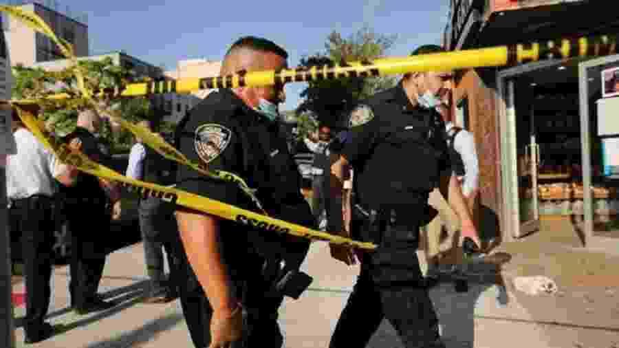 Em um ano marcado pela pandemia de coronavírus, crise econômica e protestos contra brutalidade policial, diversas cidades americanas vêm registrando aumento na taxa de homicídios. - Getty Images