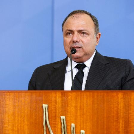 O ministro da Saúde, Eduardo Pazuello - Carolina Antunes/Presidência da República