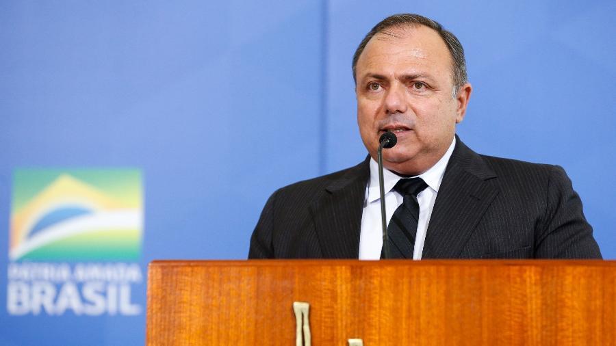 Ministro da Saúde, Eduardo Pazuello, toma posse em setembro de 2020 - Carolina Antunes/Presidência da República