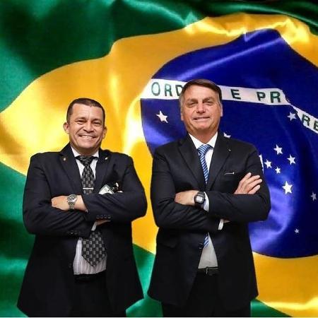 """Max Guilherme Machado Moura, assessor especial do presidente Jair Bolsonaro, ataca STF e diz que vai """"para guerra"""" - Reprodução"""