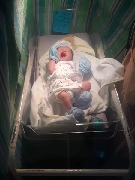 Imagem do bebê com nome inusitado - Reprodução/Facebook/Sincerely Pascual
