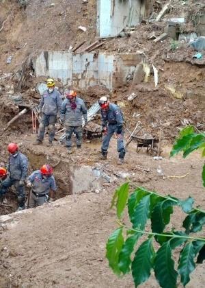 Em Mairiporã (SP), as chuvas causaram a morte de dez pessoas