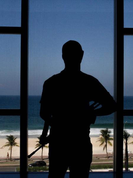 Polícia Militar (PM) faz exercício simulado em hotel de São Conrado, no Rio de Janeiro - LUCIANO BELFORD/ESTADÃO CONTEÚDO