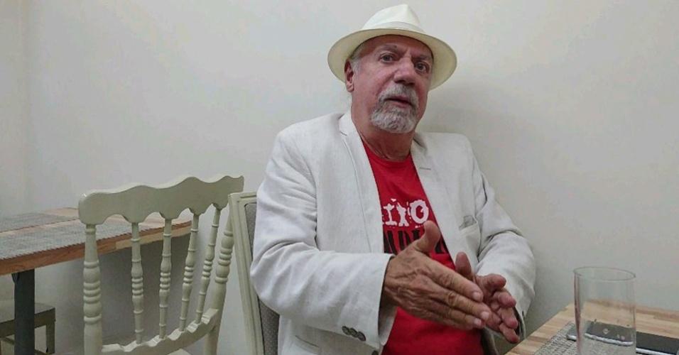 O ex-guerrilheiro Francisco Calmon, que coordena o Fórum Memória e Verdade no Espírito Santo, foi preso por Paulo Malhães quando integrava a VAR-Palmares (Vanguarda Armada Revolucionária Palmares), em 1969