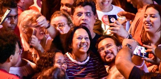 A petista Fátima Bezerra, eleita ao governo do Rio Grande do Norte