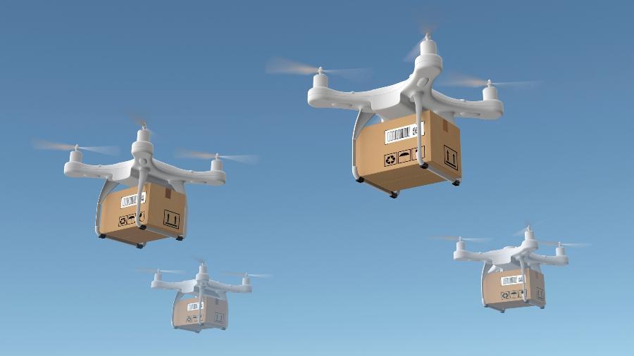 OS drones estão prestes a invadir os céus - Getty Images/iStockphoto