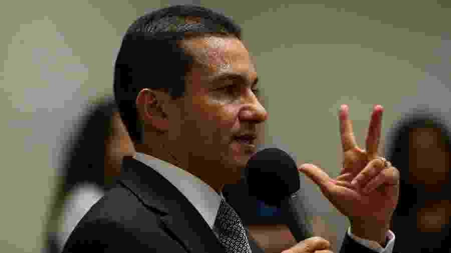 Marcos Pereira disse que não convidou o presidente Jair Bolsonaro para o Republicanos - Pedro Ladeira/Folhapress