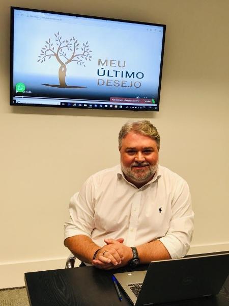 Mário Cássio Maurício é o fundador da Meu Último Desejo - Divulgação